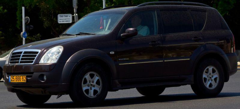 סאנגיונג REXTON 270 RX שנת ייצור 2007  2566662