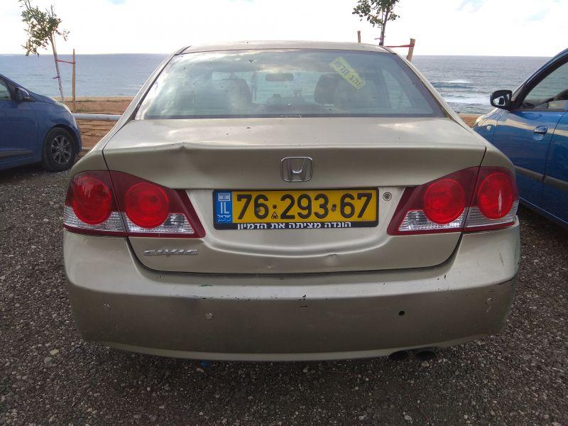 הונדה CIVIC LS שנת ייצור 2008  7629367