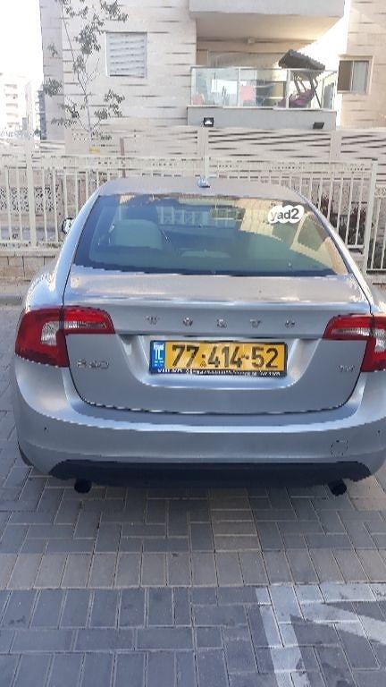וולבו S60 T4 KINETIC שנת ייצור 2013  7741452