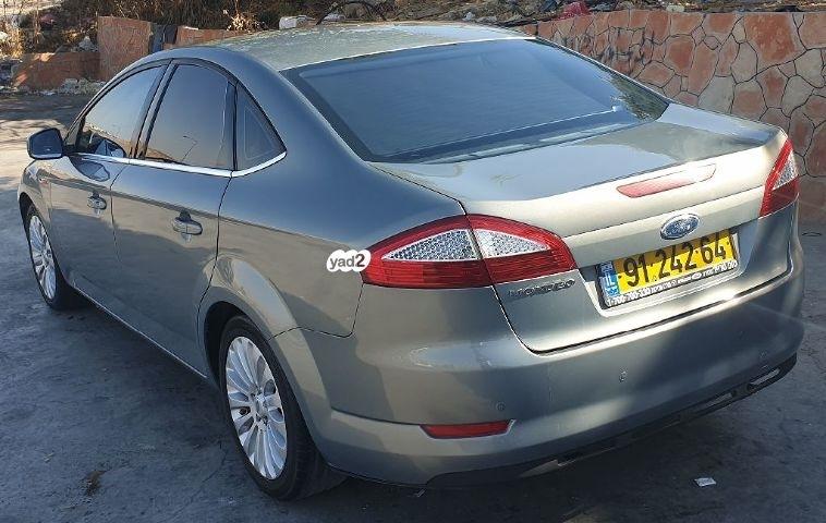 פורד MONDEO TITANIUM שנת ייצור 2008  9124264