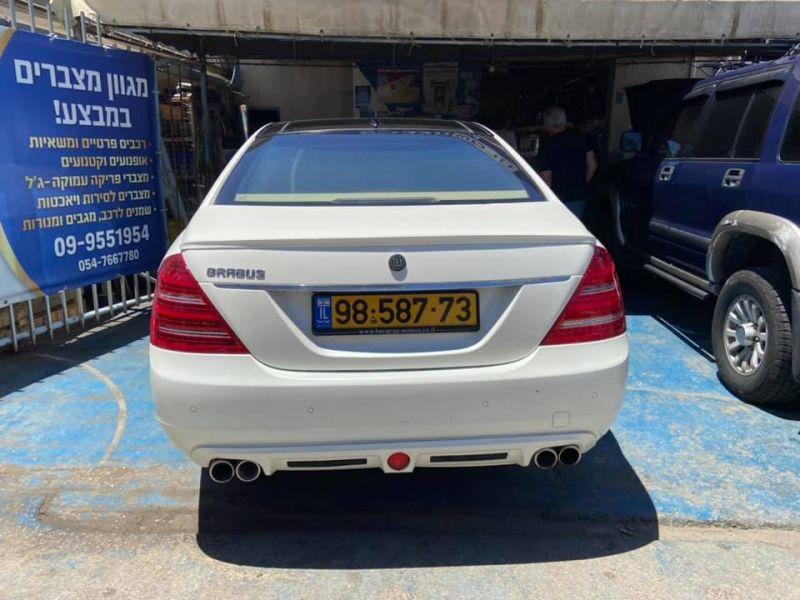 מרצדס-בנץ S500LONG LUXURY שנת ייצור 2012  9858773